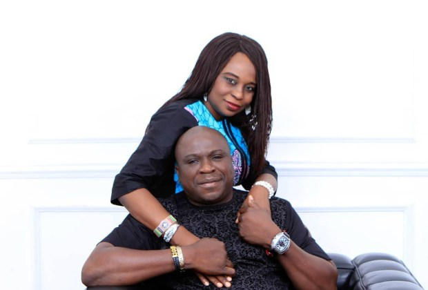 """My sweet wife, you are perfect"" - Gbenga Adeyinka goes romantic to celebrate wife on 25th wedding anniversary"