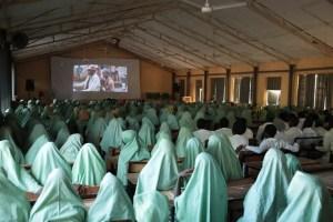 Stephanie Linus takes Fistula campaign to Maiduguri.