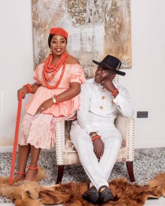 Kennedy Okonkwo and wife Ichechi celebrates wedding anniversary