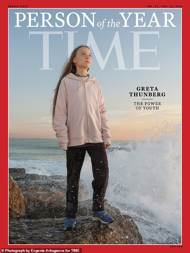 Greta Thunberg named Young person of the year 2019
