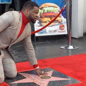 50 cent receives a star on the Hollywood Walk Of Fame