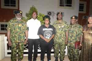 Ned Nwoko, Chukwuebuka Anyaduba, Teni, welcome Nigerian Armed Forces ahead of the Unsung Heroes Concert