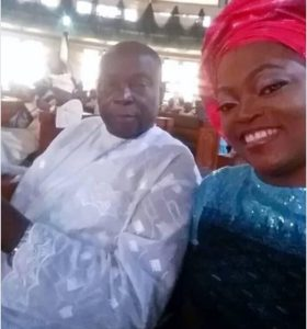 Funke Akindele and siblings allegedly shun their father's burial