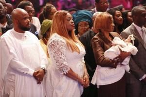 Dedicate daughter to church