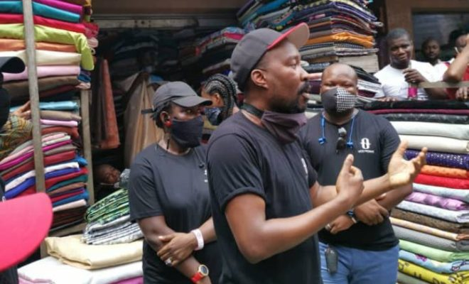 Ugo Monye Fashions distributes 3000 reusable Face Masks to aid in Covid-19 pandemic