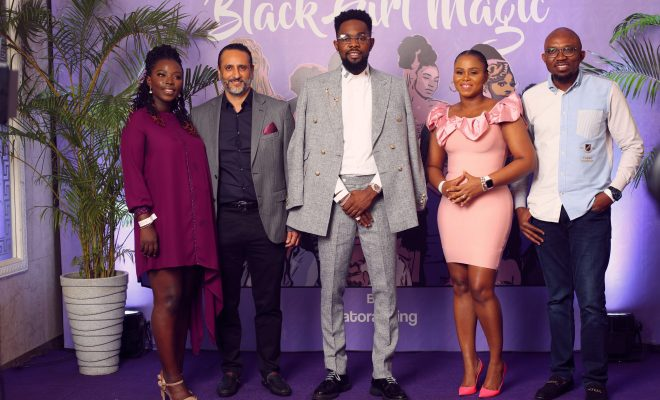 Darling Nigeria partners Patoranking on Black Girl Magic