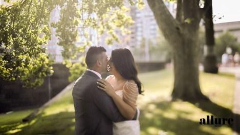 Marisa & Vince - Metropolis wedding video - allure productions wedding film --5