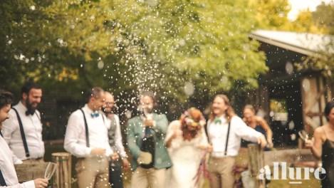 Nicole & Denis - Log Cabin Ranch Wedding video - Allure Wedding Films 9
