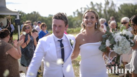 Tanya & Anthony - St Leonards Vineyard wedding video - Allure Wedding Film 7