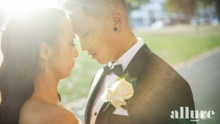 Renee & Andrew - lakeside Receptions - Allure Productions 1