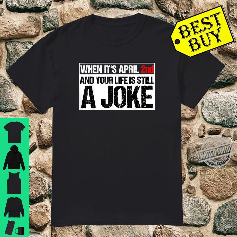 Sarkasmus Ironie Schwarzer Humor Fan Ironischer Spruch Shirt