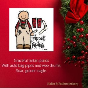 11th Day of Christmas Haiku, Pipers Piping