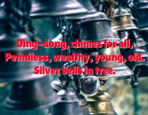 Bells #Christmas #Haiku via @PatFurstenberg