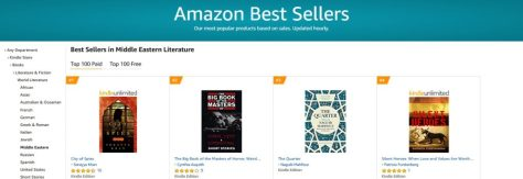 Amazon UK #4 Bestseller Middle Eastern