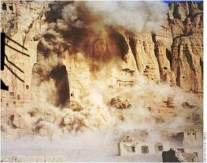 Destruction of Buddhas March 21 2001. Source Wikipedia