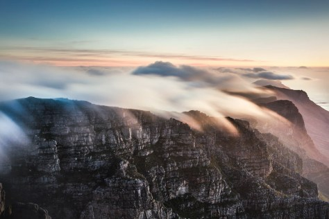 Table Mountain, Cape Town, South Africa, image free via Unsplash, created by @christianperner