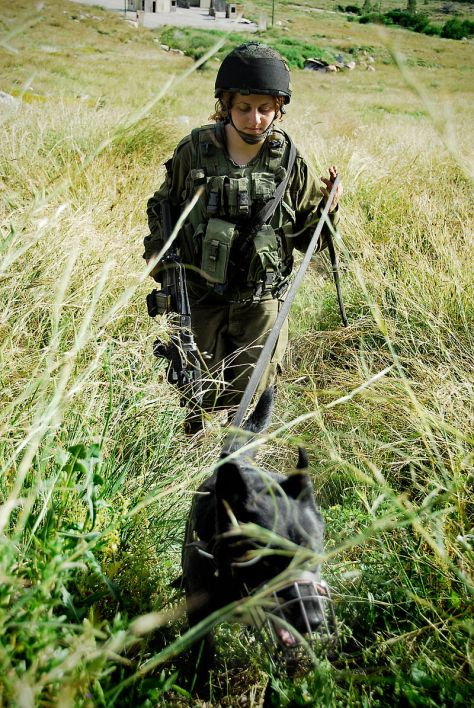 Israel_Defense Forces -Oketz Unit Soldier Source Wikipedia