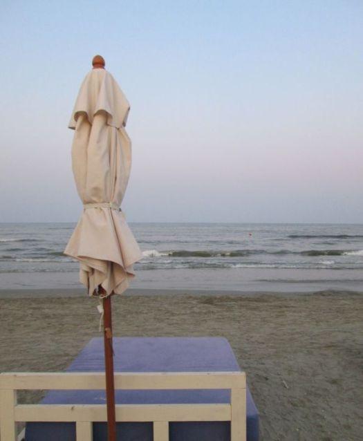 beach umbrella by the sea @PatFurstenberg