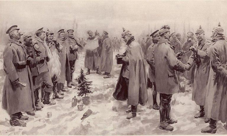 WW1 Christmas Truce
