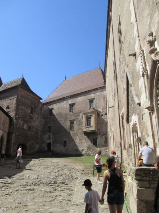 Corvin Castle,main court