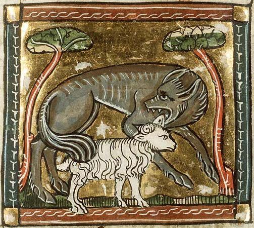 Animals in Romanian Folklore and Mythology, the wolf and the lamb