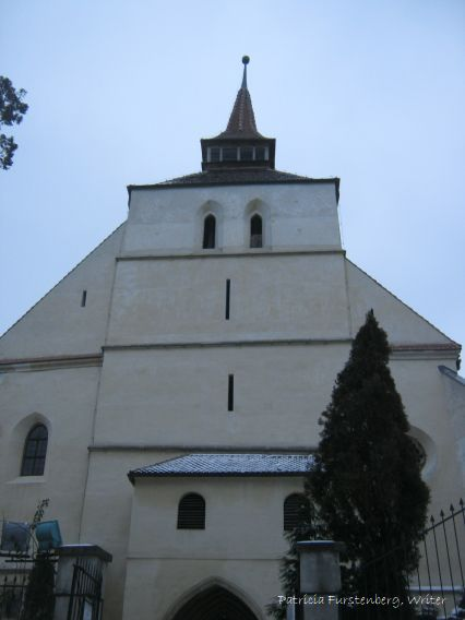 medieval city Sighisoara. The Church on the Hill