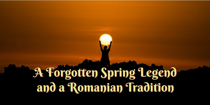 spring legend Romanian tradition