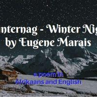 Winternag - Winter Night by Eugene Marais
