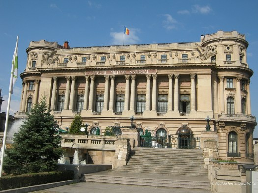 The Palace of National Military Circle, French neoclassic architecture, Bucharest