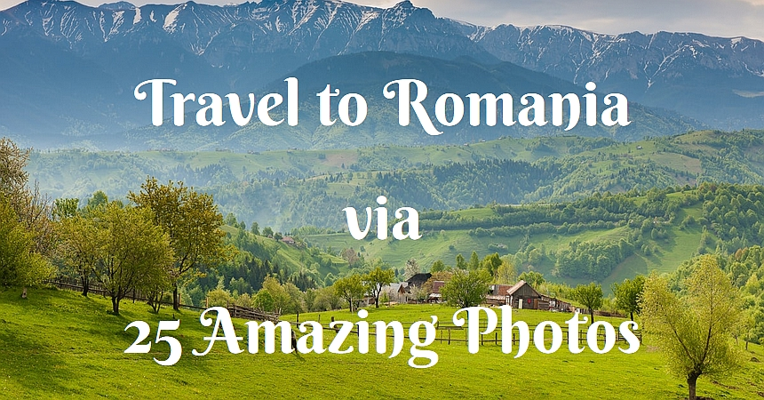 travel Romania via photos