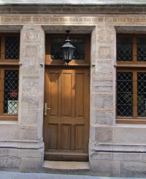 Thursday Doors, Bucharest or Paris, guess game