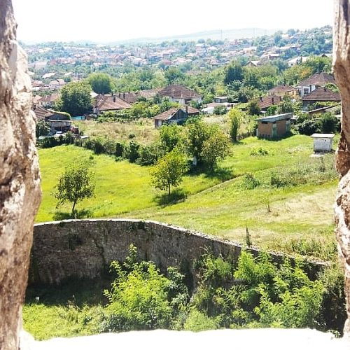 View from Corvin Castle