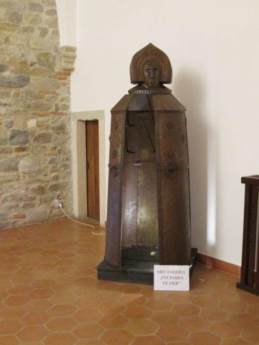 Iron Maiden of Fagaras Castle, symbol of medieval violence