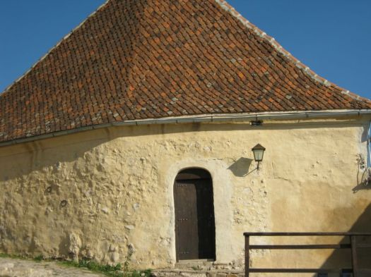 a beautiful home inside Rasnov fortress