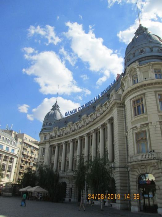 Romanian Commercal Bank, BCR, at Universitate Square, Bucharest