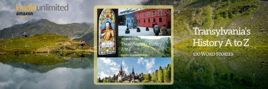 Happy Publication Day to me, Transylvania's History A to Z, 100 Word Stories is LIVE on Amazon as eBook and paperback.