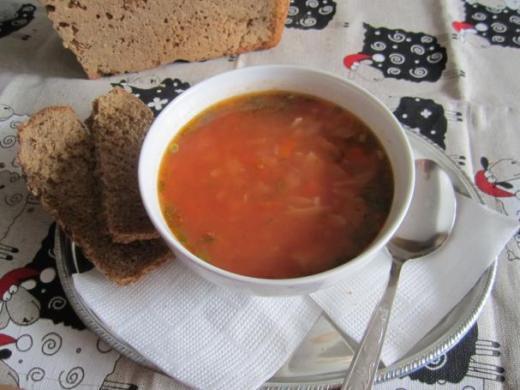 Суп минестра