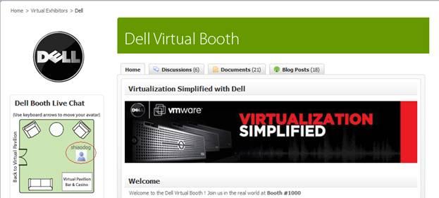 VMworld.com - Dell's Booth