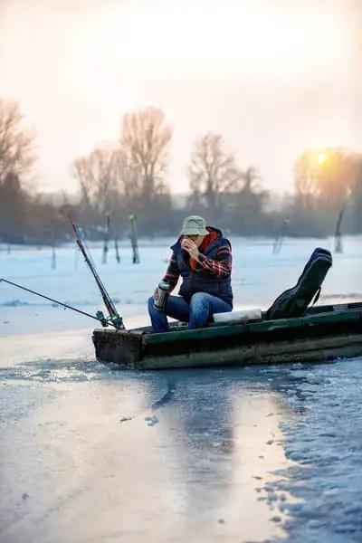fishing winter