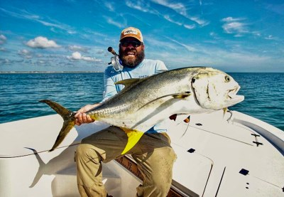 Captain James with Jack Crevalle