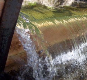 Weir With Good Nappe