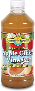 apple cider vinegar raw wavy hair
