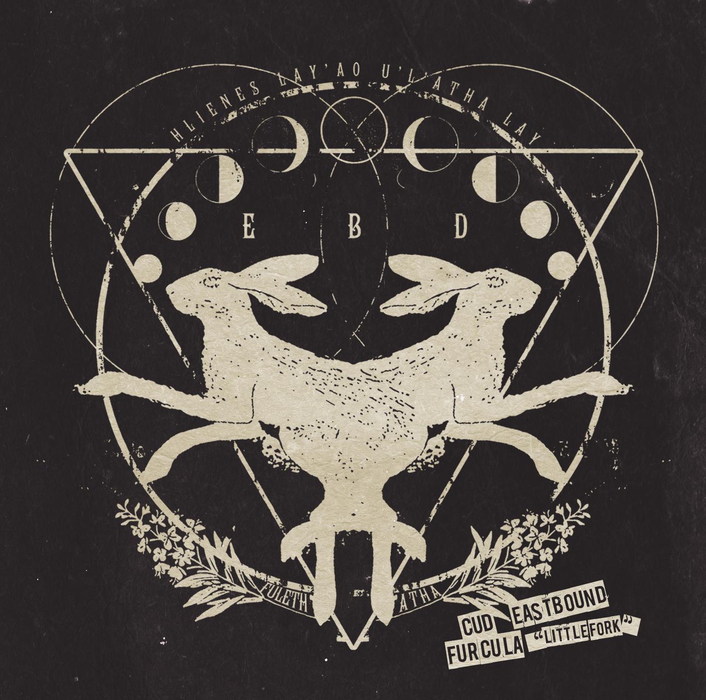 Cud Eastbound Furcula Album Cover, DIY Folk from Halifax, Nova Scotia, Canada