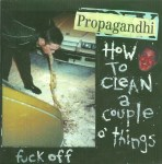 Propagandhi How To Clean a Couple o Things Cover Art