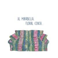Al Mirabella - Floral Couch
