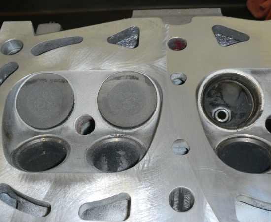 Subaru Cylinder Head Surface Prep