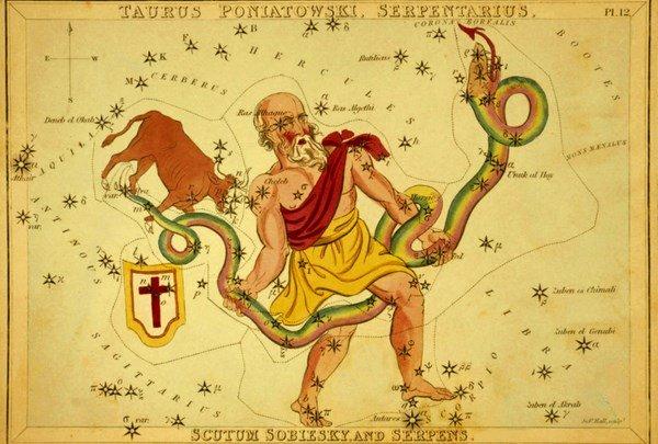 Совместимость она змееносец он лев. Стрелец змееносец знак зодиака