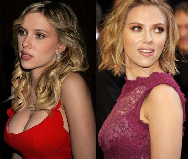 Johansson brüste scarlett Teyana Taylor: