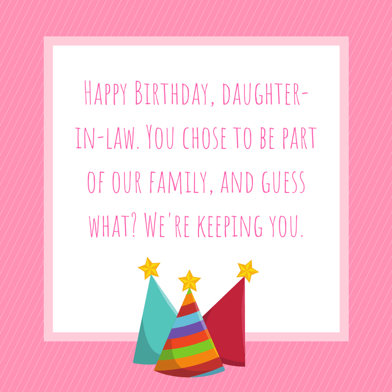 20 Special Birthday Wishes For A Daughter In Law Allwording Com