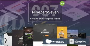 Read more about the article 907 (NineZeroSeven) 5.1.2 NULLED – Universal Responsive WordPress Theme